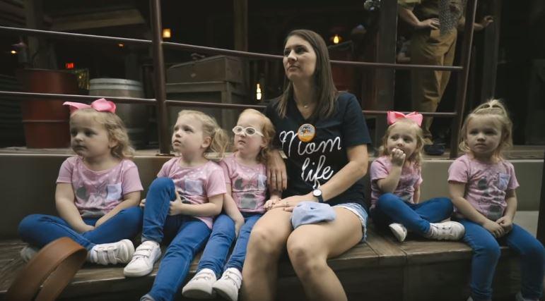 Busby girls at Disneyland