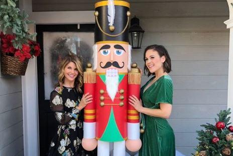 Erin Krakow with Lori