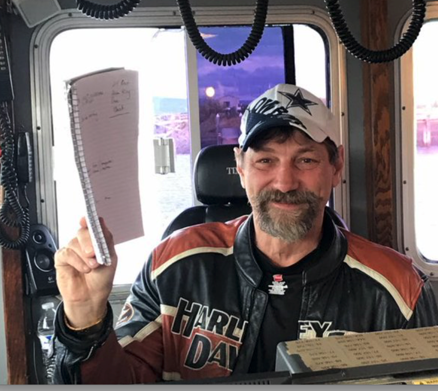 Johnathan Hillstrand, captain of the Time Bandit and on the Deadliest Catch -https://twitter.com/captjohnathan/status/953694229384937472