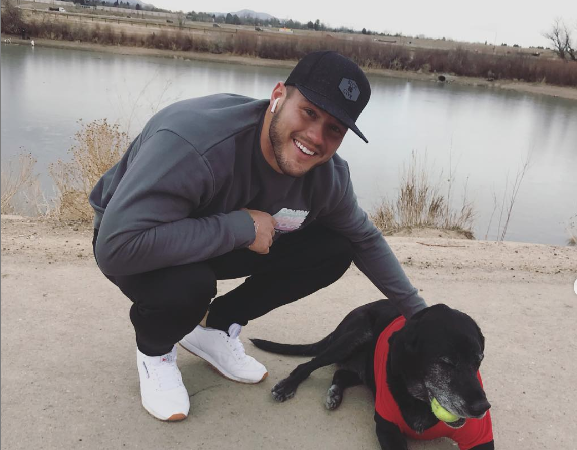 Colton Underwood from Instagram