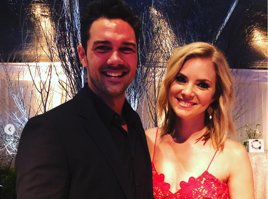 Ryan Paevey, Cindy Busby, Marrying Mr. Darcy-https://www.instagram.com/p/Bd66KiGhLeJ/