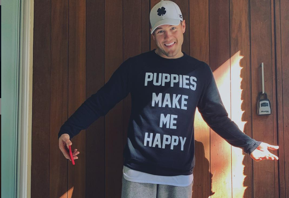 Colton Underwood, The Bachelor, From Instagram
