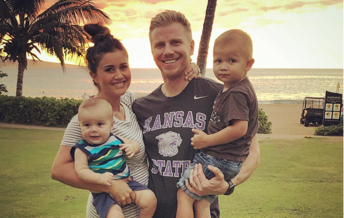 The Bachelor Sean Lowe from Instagram