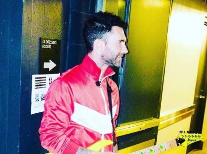 Adam Levine Maroon 5 Instagram