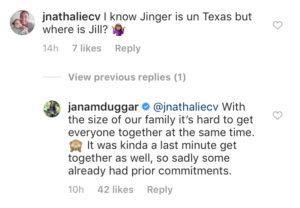 Jana Duggar Instagram