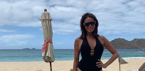 Danielle Staub on the beach Instagram