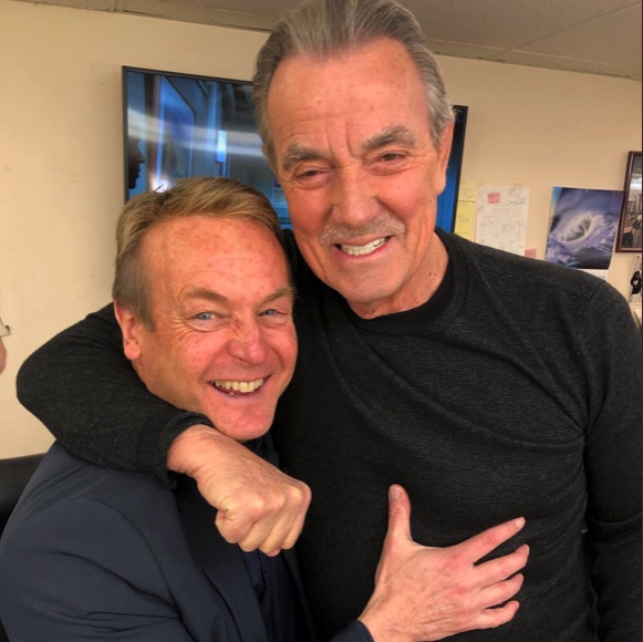 Doug Davidson, Eric Braeden, Young and the Restless-https://twitter.com/EBraeden/status/1096543274716688384/photo/1