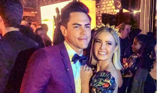 Tom Sandoval and Ariana Madix from Instagram