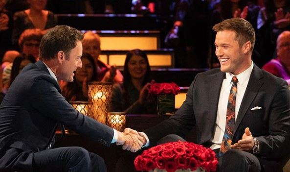 Chris Harrison and Colton Underwood from Instagram