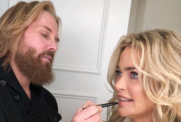 Denise Richards makeup from Instagram