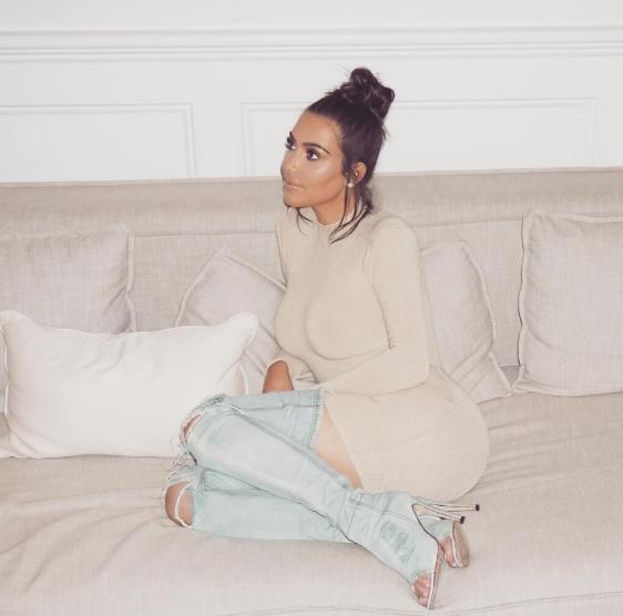 Kim Kardashian from Instagram