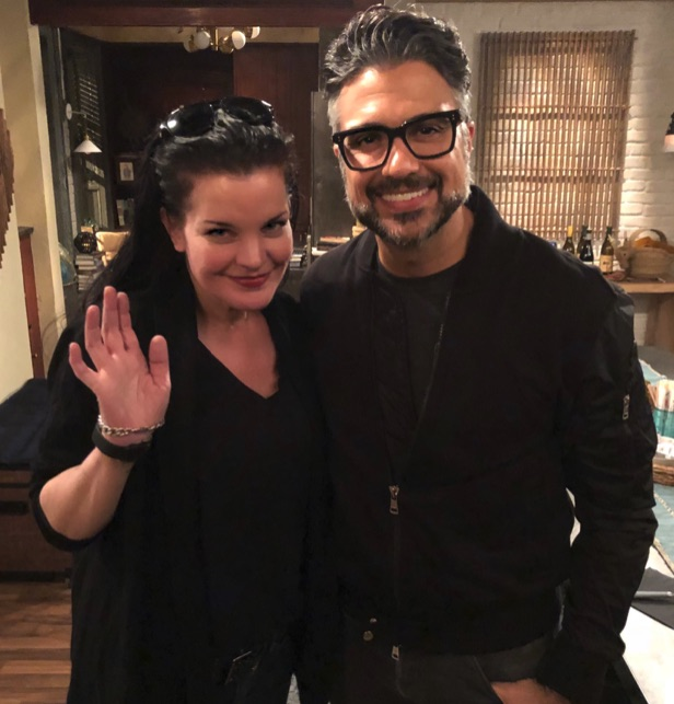 Pauley Perrette, Jaime Camil, NCIS, Jane The Virgin, Broke-https://twitter.com/PauleyP/status/1103514340060061697/photo/1