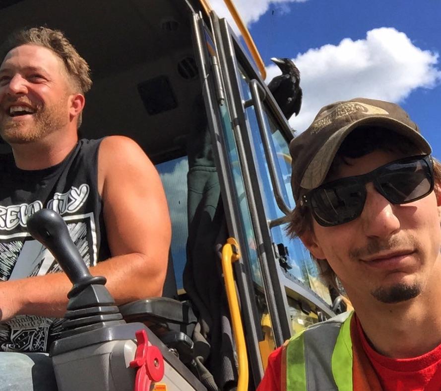 Rick Ness, Parker Schnabel, Gold Rush-https://www.instagram.com/p/6dQxvdEAbt/