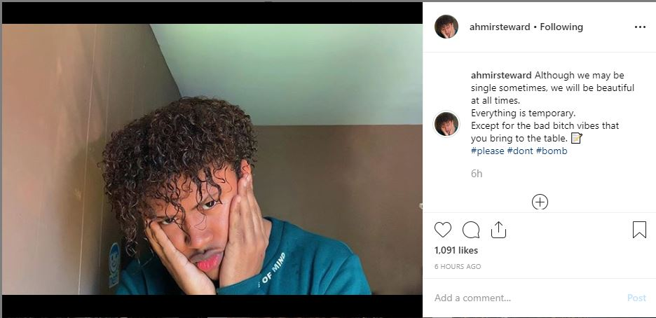 Ahmir Steward - Instagram