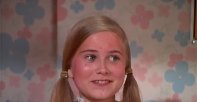 Maureen McCormick is an episode of Brady Bunch as Marcia Brady from YouTube