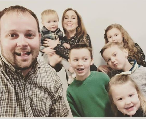 Anna and Josh Duggar from Instagram