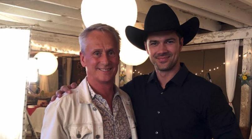 Dan Neale, Ryan Paevey, Dude Ranch, Hallmark-https://twitter.com/RyanPaevey/status/1128076889241706496