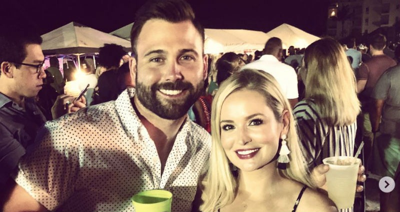 Former Bachelorette Emily Maynard with Husband Tyler Johnson Via Instagram