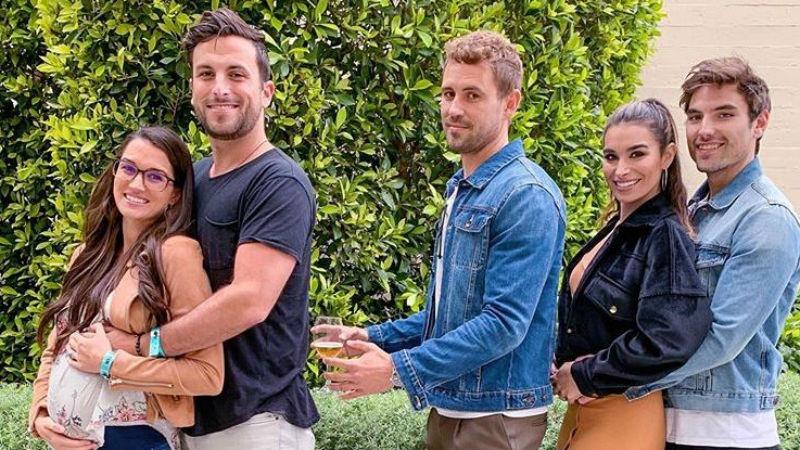 Jade and Tanner Tolbert Nick Viall Ashley Iaconetti and Jared Haibon via Instagram