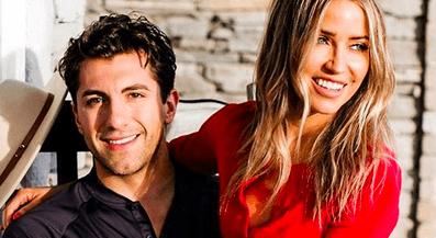 Bachelorette star Kaitlyn Bristow and Jason Tartick on Jason Tartick Instagram
