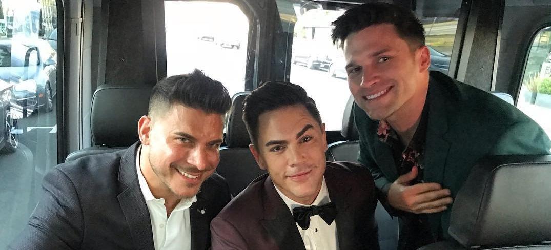 Vanderpump Rules Tom Sandoval, Jax Taylor and Tom Schwartz Instagram