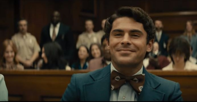 Zac Efron as Ted Bundy Netflix Youtube Screenshot