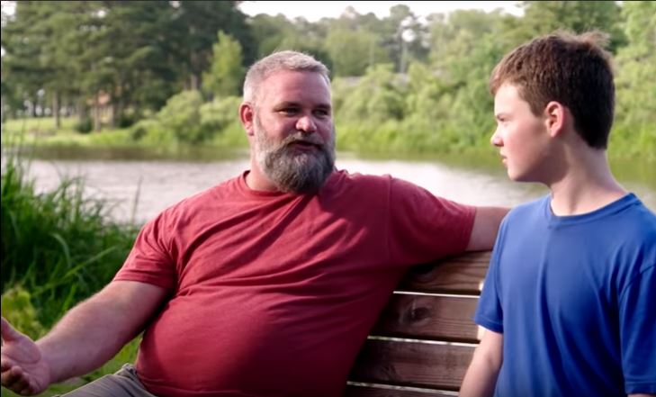 Bernie McGee With his son YouTube