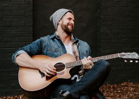 Jed Wyatt playing guitar Instagram