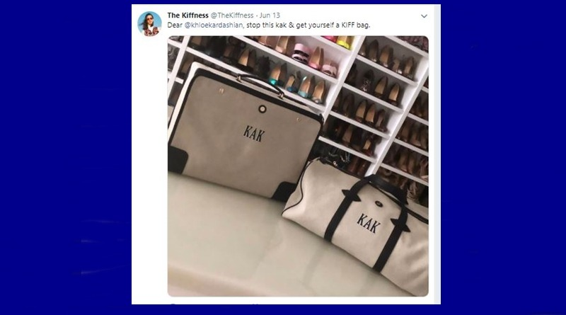 KUWTK Khloe Kardashian KAK Bags