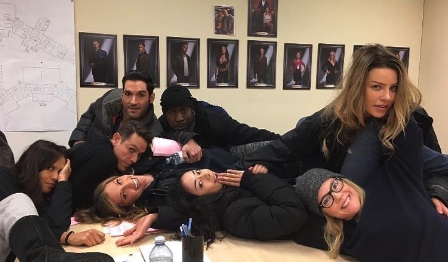 Lucifer Cast, Netflix-https://www.instagram.com/p/BiqP1q-hxvm/