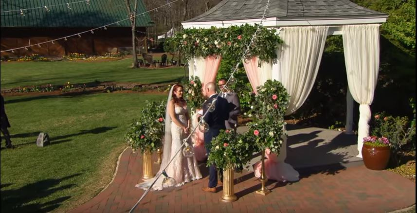 Married at First Sight wedding from YouTube