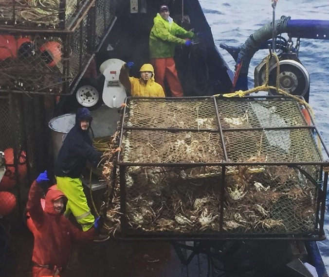 Crab Fishing on the Deadliest Catch-https://www.instagram.com/p/BNN4yXNDf18/