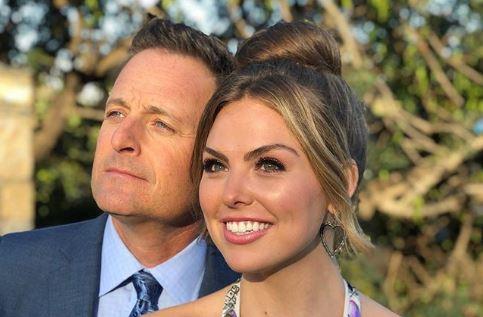Hannah B and Chris Harrison Instagram Bachelorette Reality Steve spoilers