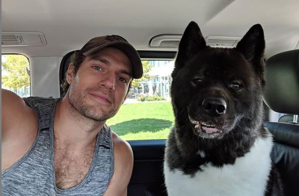 Henry Cavill from Instagram The Witcher