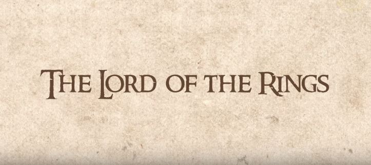'The Lord of the Rings' YouTube
