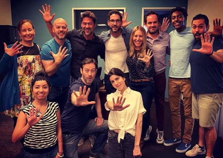 Lucifer writers, Tom Ellis, Lucifer Morningstar, Lucifer-https://www.instagram.com/p/BzZXRfcpuSo/