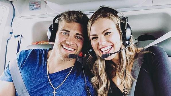 Luke Parker with Hannah B Bachelorette Instagram