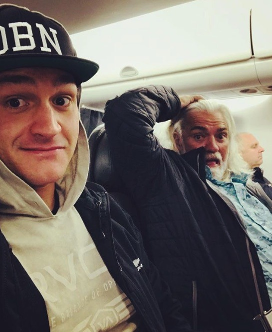 Nick McGlashan, Wild Bill Wichrowski, Deadliest Catch-https://www.instagram.com/p/Br53NhcBMbJ/