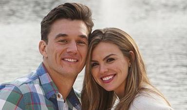 Hannah B. and Tyler C. on 'The Bachelorette' Instagram