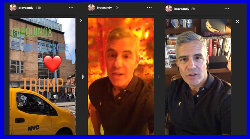 Andy Cohen talks Equinox and Soul Cycle