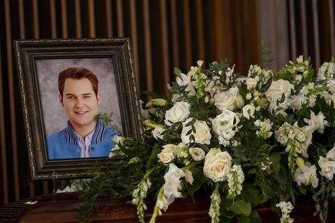 Bryce Walker funeral on YouTube