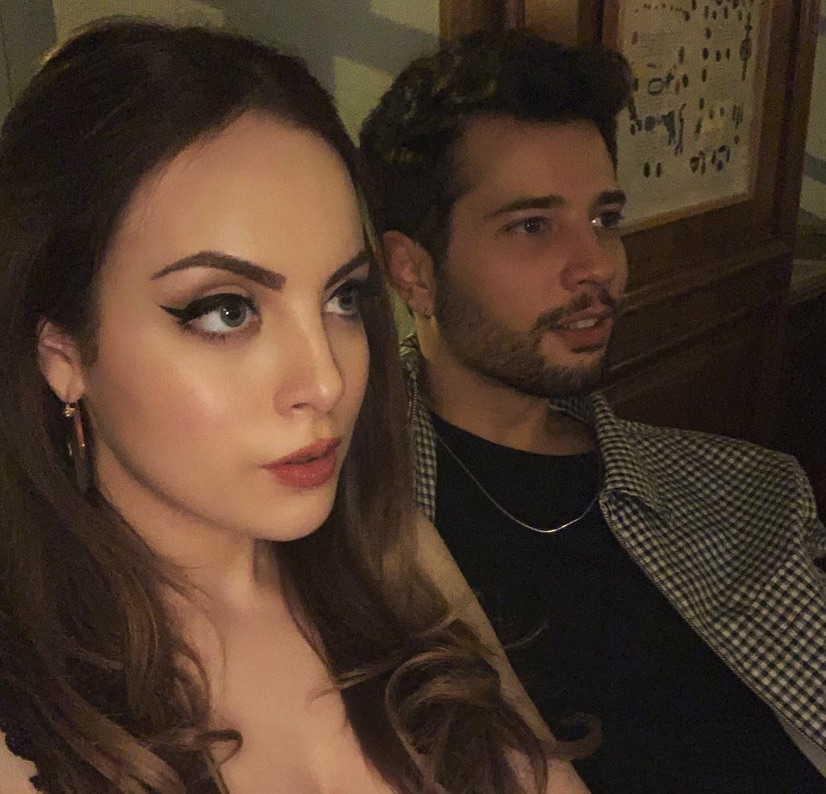 Elizabeth Gillies, Fallon Carrington, Rafael de la Fuente, Sammy Jo Jones, Dynasty-https://www.instagram.com/p/BsrFX9MHqEg/