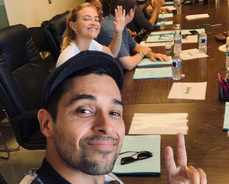 Emily Wickersham, Ellie Bishop, Wilmer Valderrama, Nick Torres, NCIS- https://www.instagram.com/p/Bz_shBAle8-/