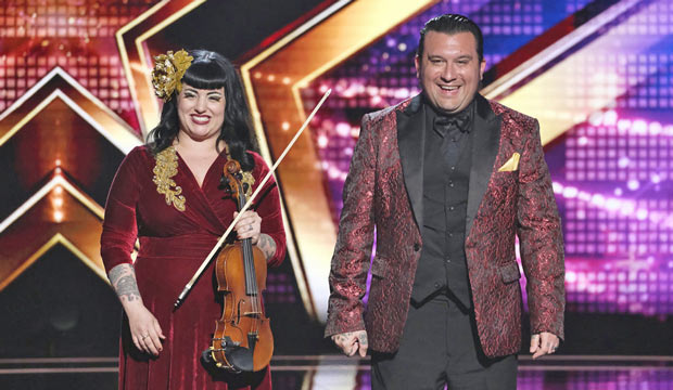 Nick and Lindsay on America's Got Talent - YouTube