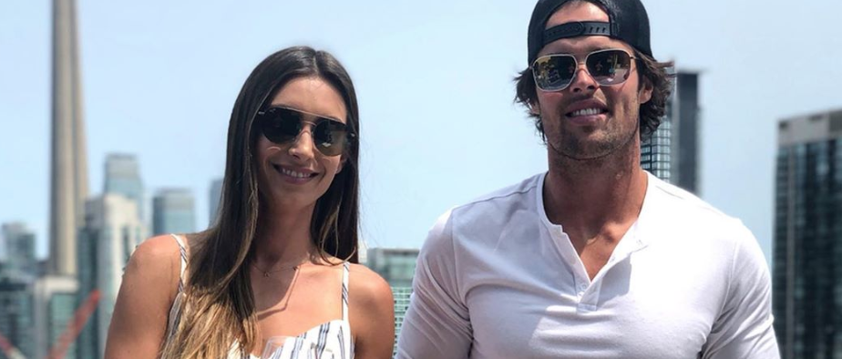 Bachelor in Paradise couple from Instagram