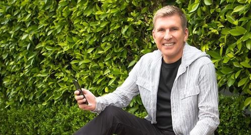 Kyle Chrisley's dad Todd from Instagram