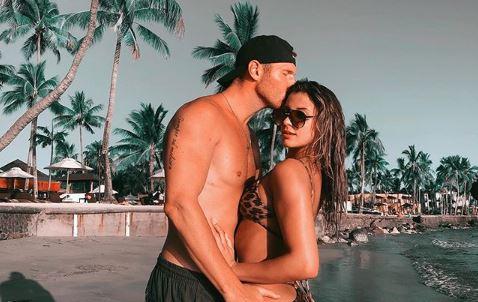 Weston Richey with Emily Instagram Love Island