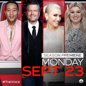 Season 17 The Voice Poster, Official Instagram
