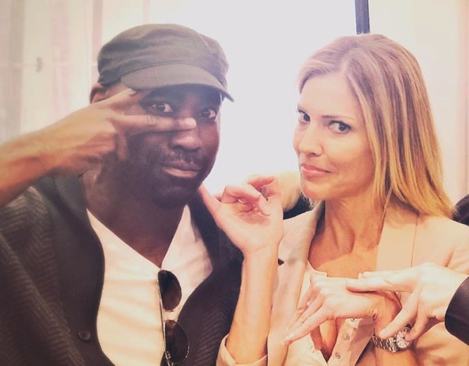 DB Woodside, Amenadiel, Tricia Helfer, Charlotte Richards-Lucifer-https://www.instagram.com/p/Byk8BKhBfZf/