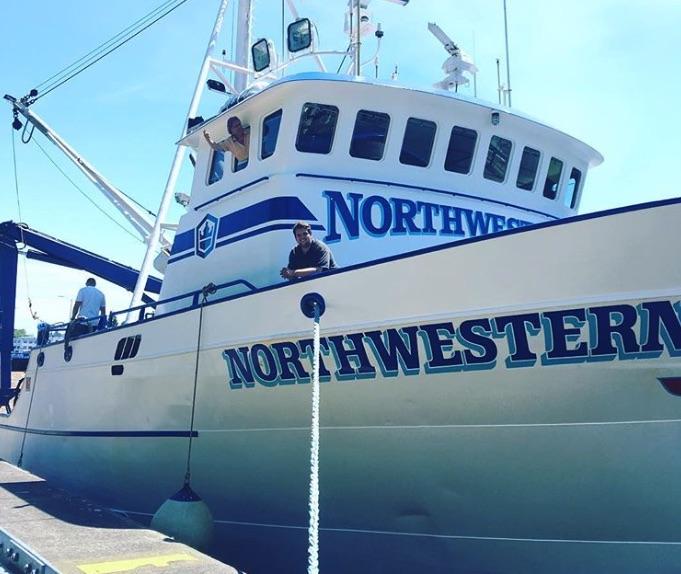 Northwestern, Deadliest Catch-https://www.instagram.com/p/BGhR3S5Bm9q/